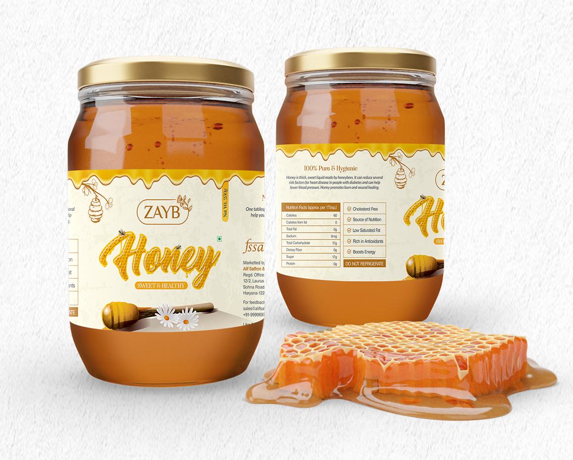 Honey Packaging - Zayb